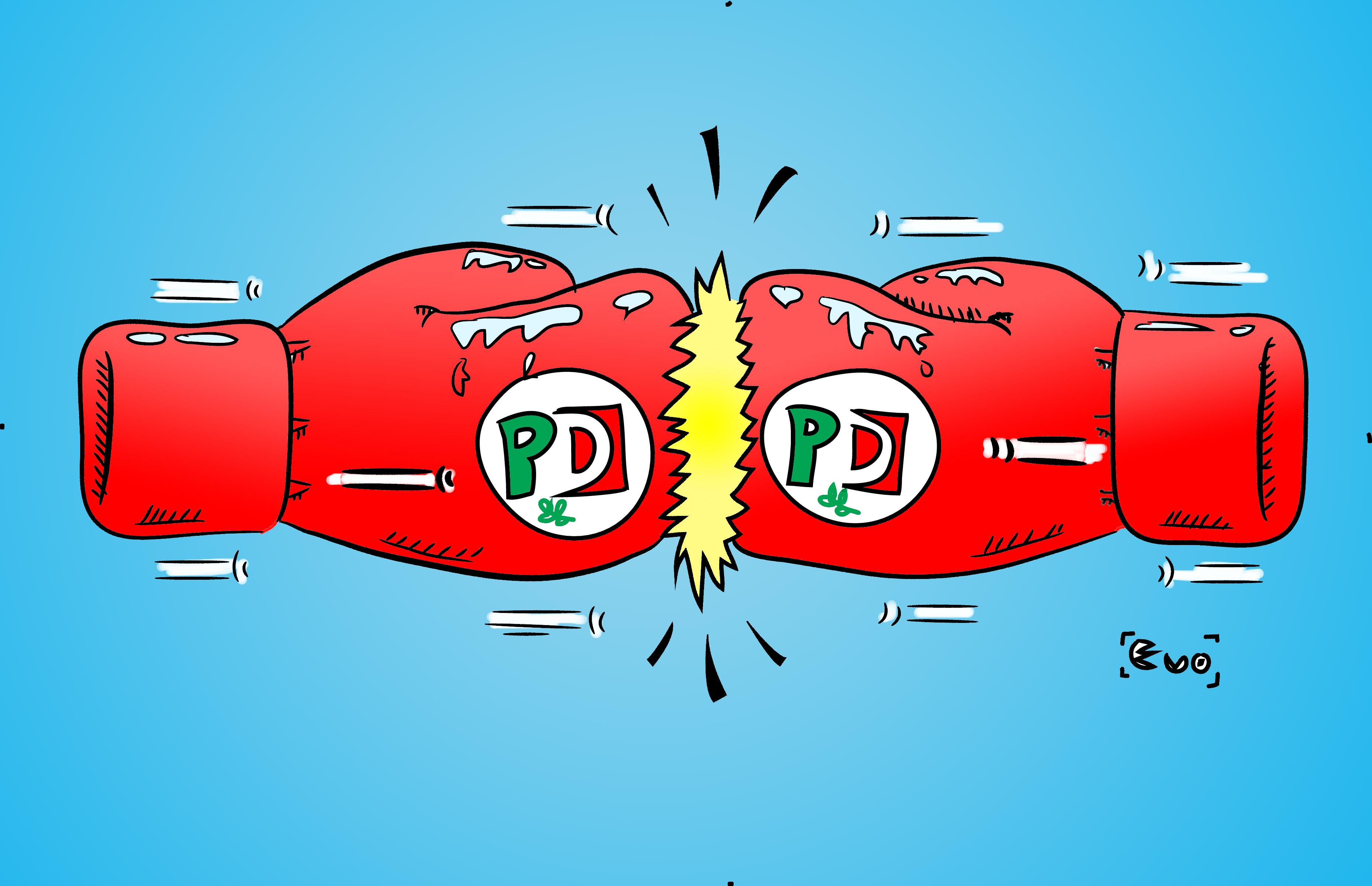 Pd versus Pd
