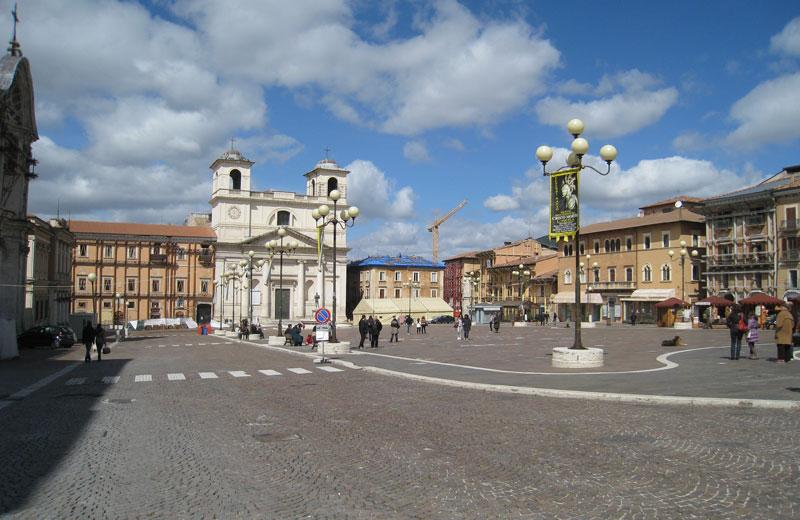 L'Aquila, centro storico