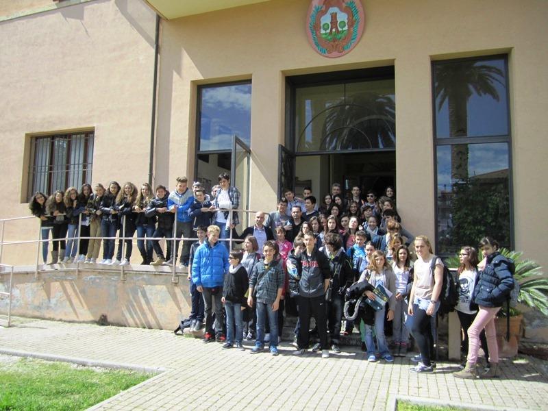 Foto d'archivio Isc Leopardi gemellaggio Italia Francia