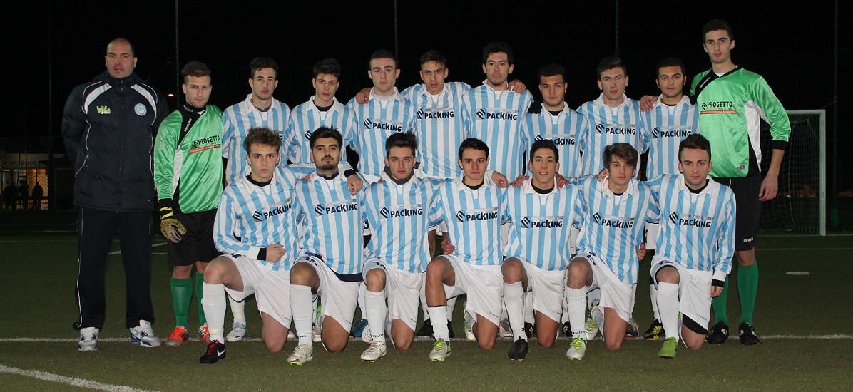 La formazione Juniores del Grottammare Campione Provinciale 2012-13