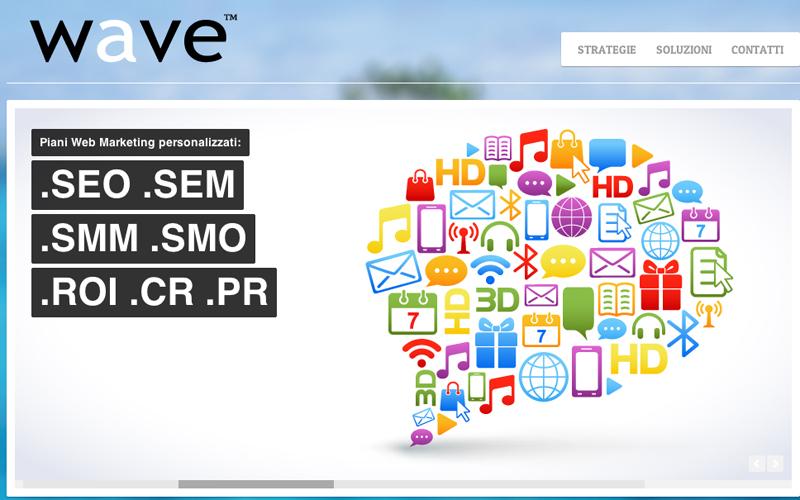 L'home page della WaveMp di Fulvio Silvestri