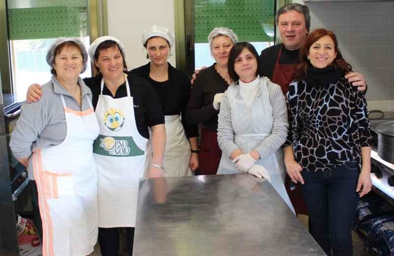Madonna della Speranza, gruppo cucina