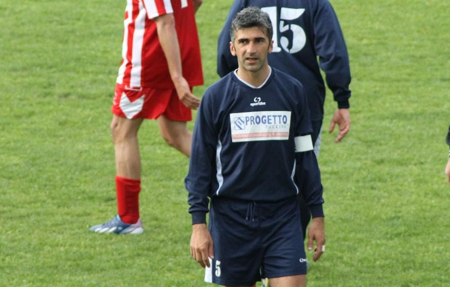 Nella foto il difensore centrale rivierasco Ludovico Capriotti