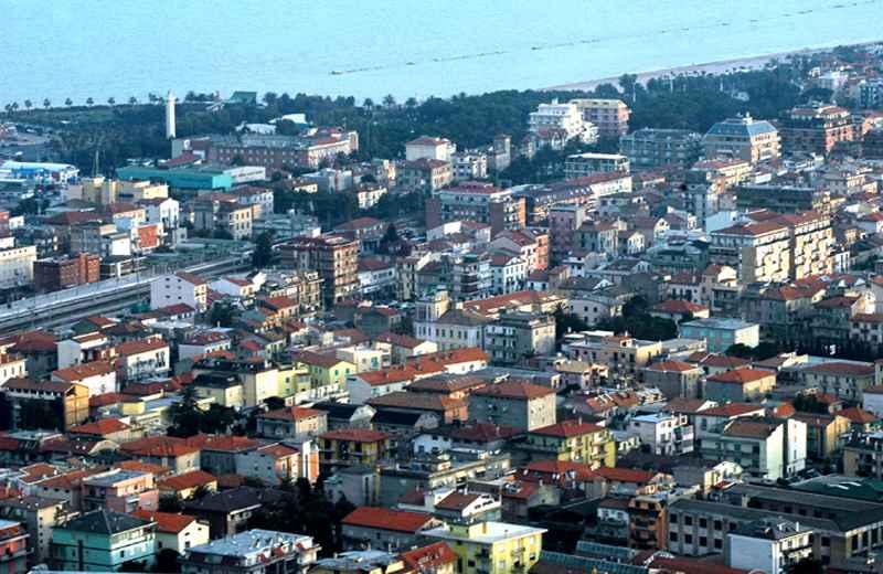 Panoramica di San Benedetto del Tronto