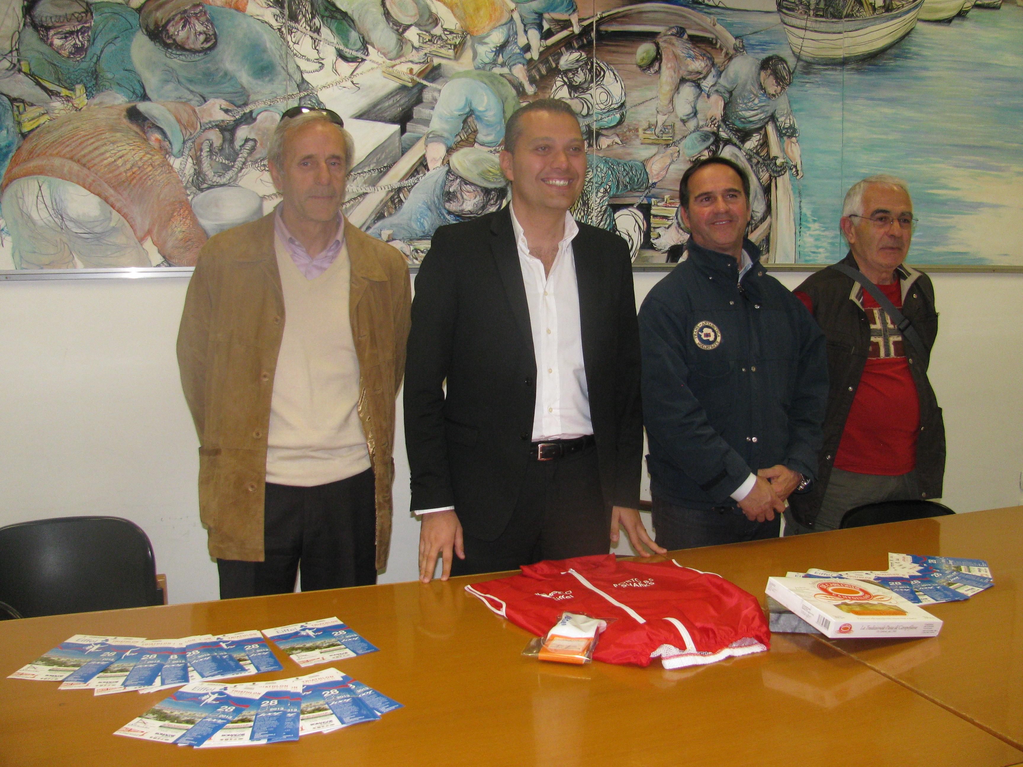 Primo Triathlon Olimpico Eiffel 2013