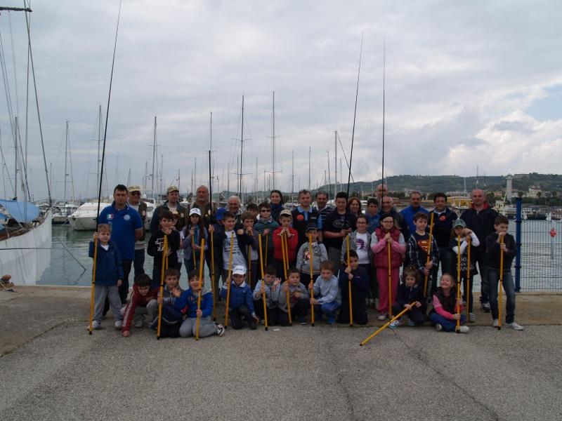 Foto di gruppo a fine corso
