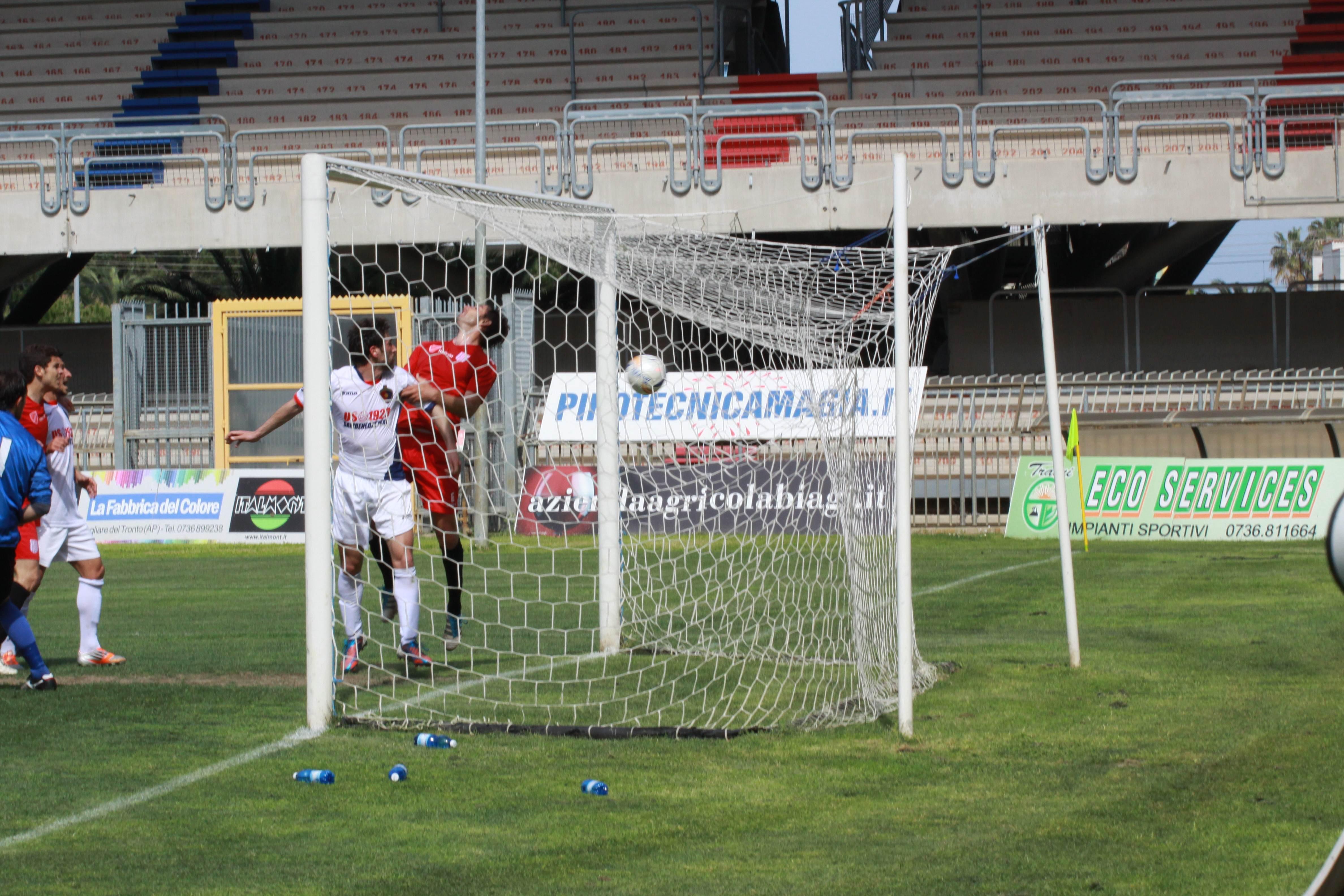 Samb-Isernia (bianchini) gol Quondamatteo 1