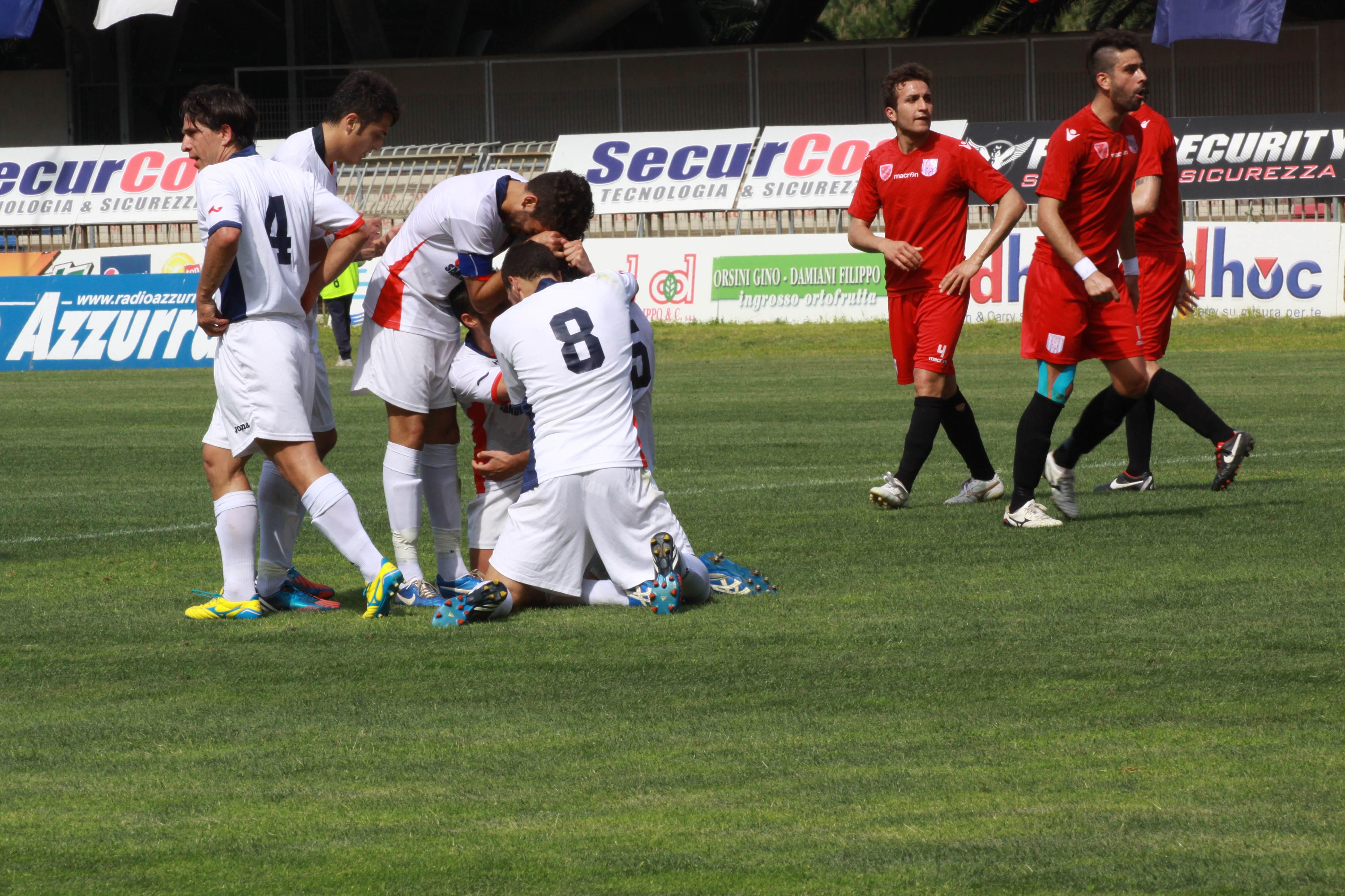 Samb-Isernia (bianchini) gol Quondamatteo 2