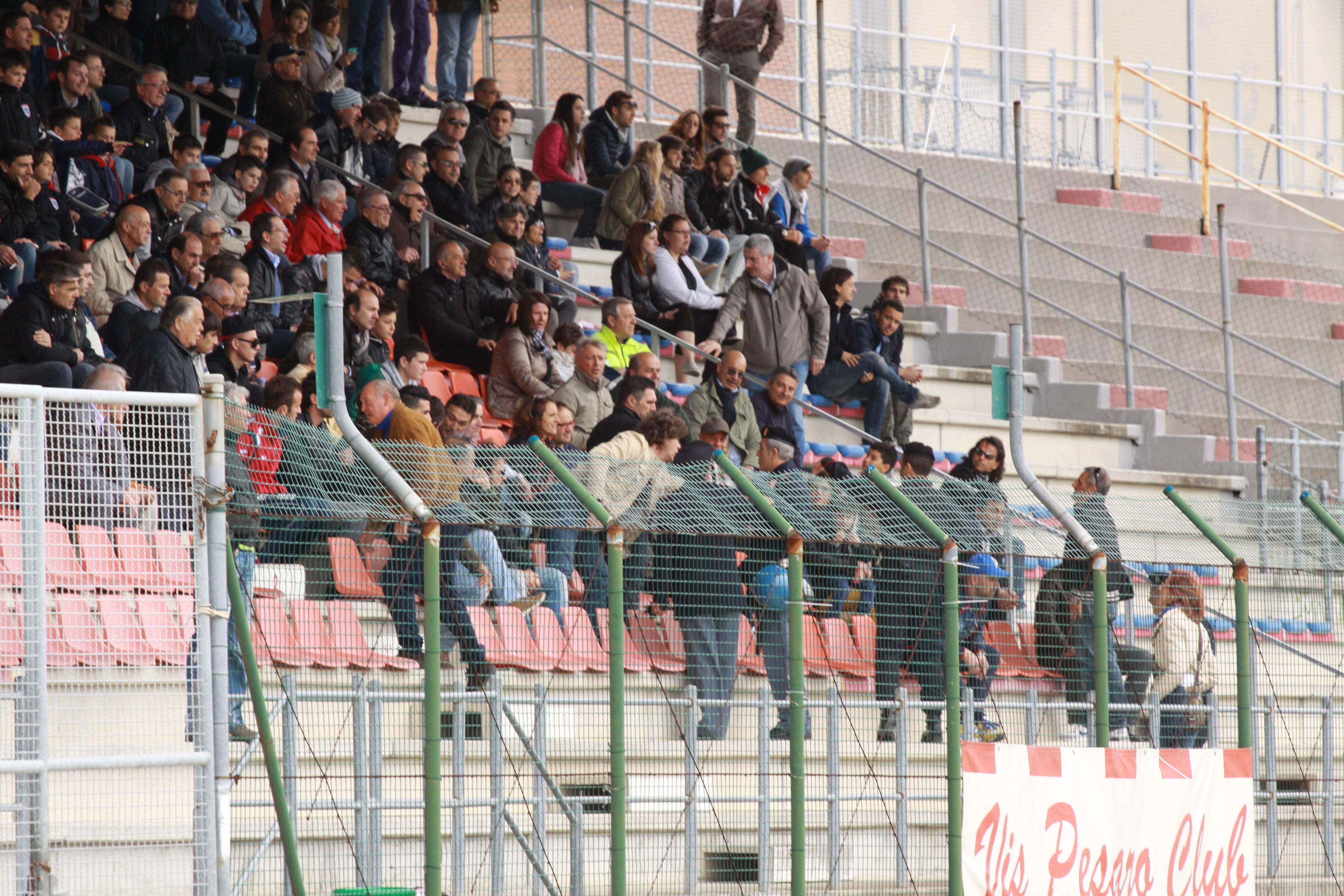 Samb-Vis Pesaro (bianchini) tribuna