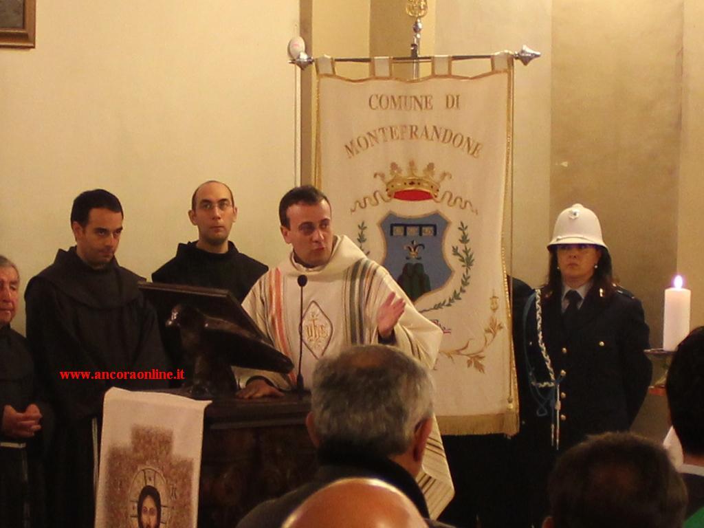 Padre Marco Buccolini (foto l'Ancora online)