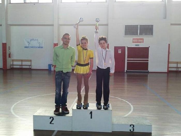I campioni regionali 2013 Silvia Ciotti e Vincenzo Mattioli