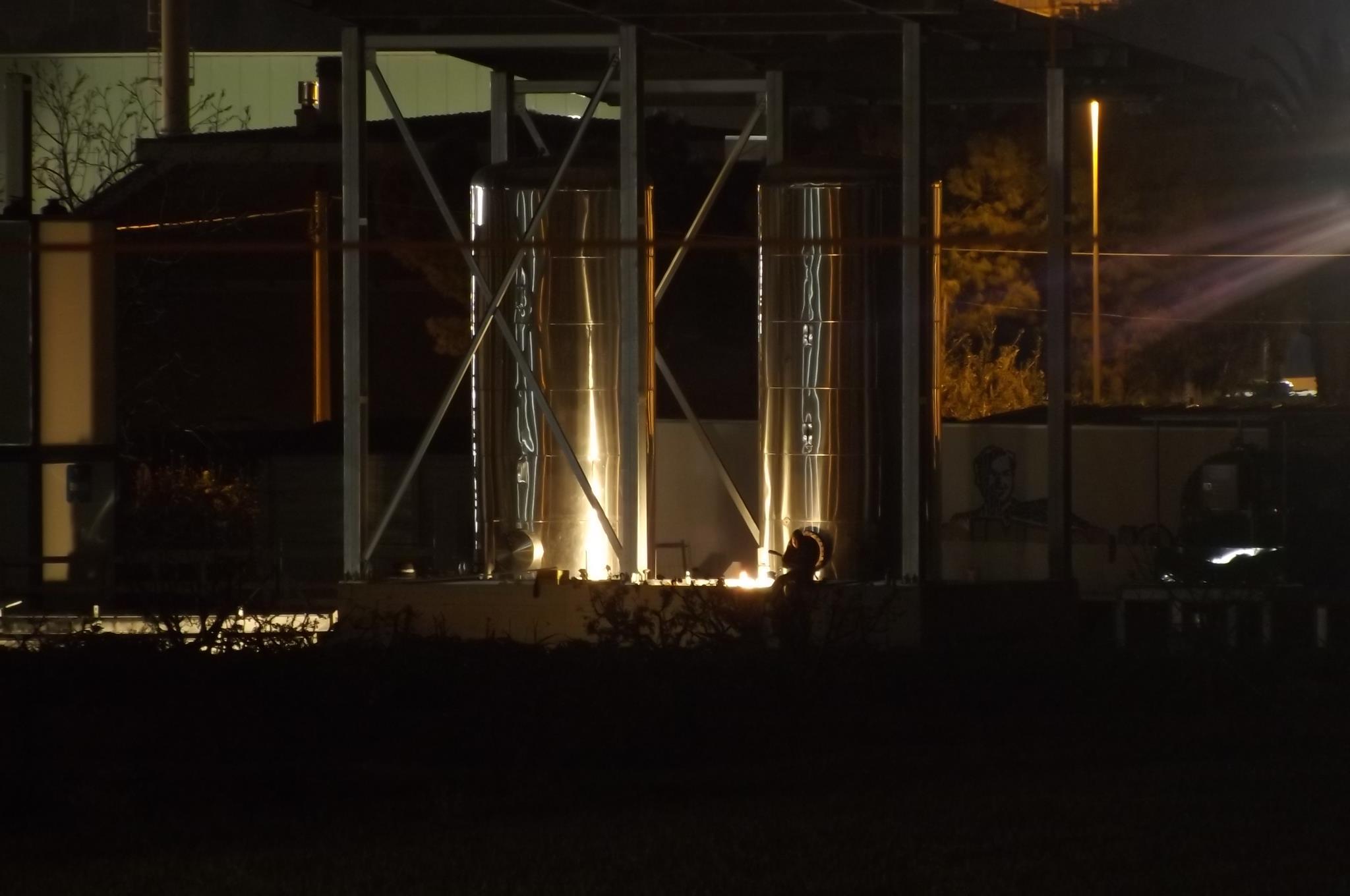 La centrale biomasse nella zona industriale di Centobuchi