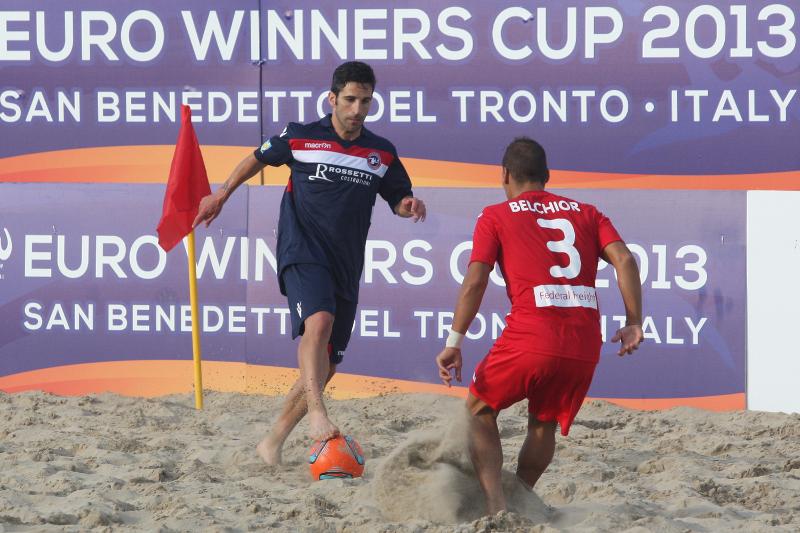 Samb Beach Soccer - un momento di un incontro