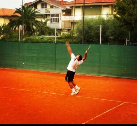 il talentuoso atleta del Ct Martinsicuro Lorenzo Ciriaco