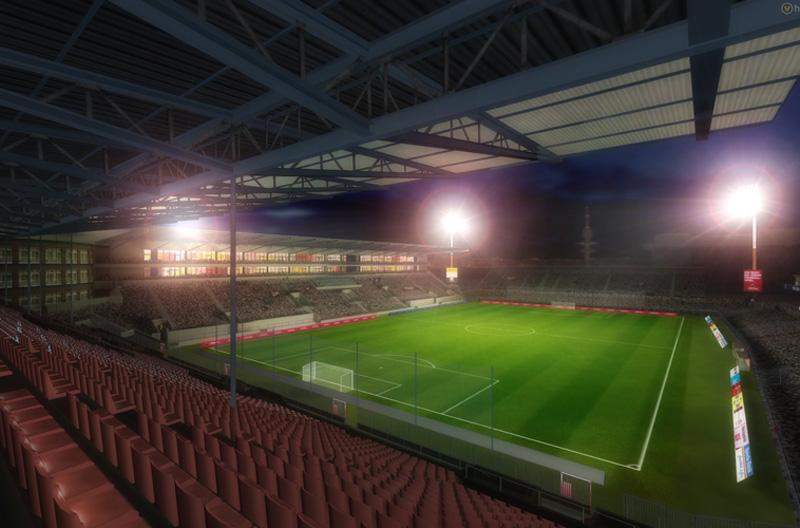 Lo stadio del StPauli. Assomiglia un po' al Riviera?
