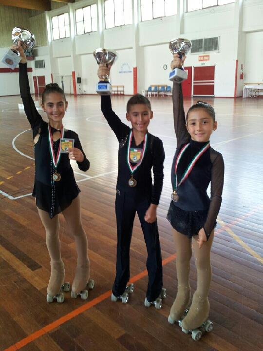 I campioni regionali Uisp pattinaggio artistico a rotelle 2013