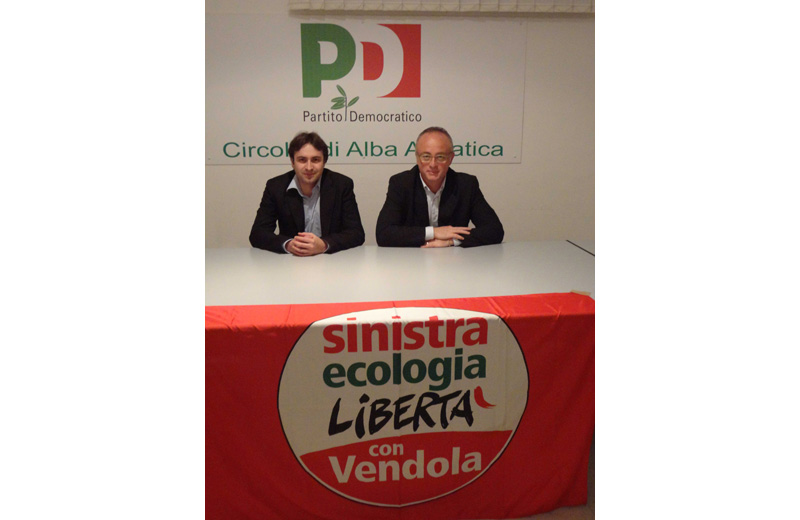 Alfredo Centinaro e Tiziano Cimini