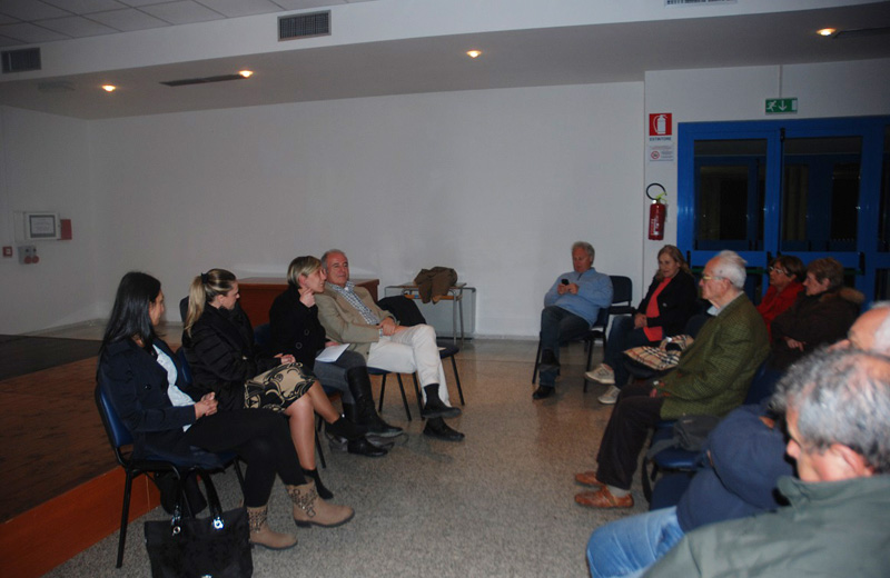 L'incontro su crisi economica e stress ad Alba Adriatica