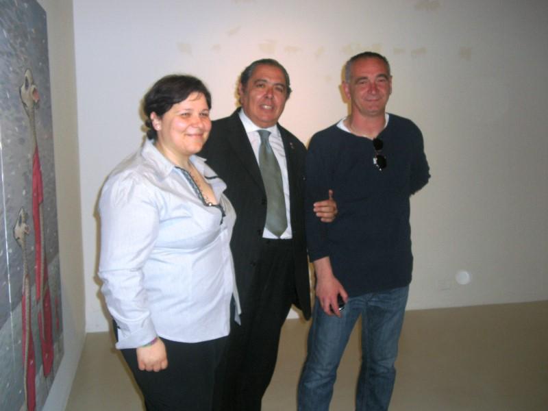 Da sinistra Loredana Rivosecchi, Massimo Urbinati e Pietro Antonelli