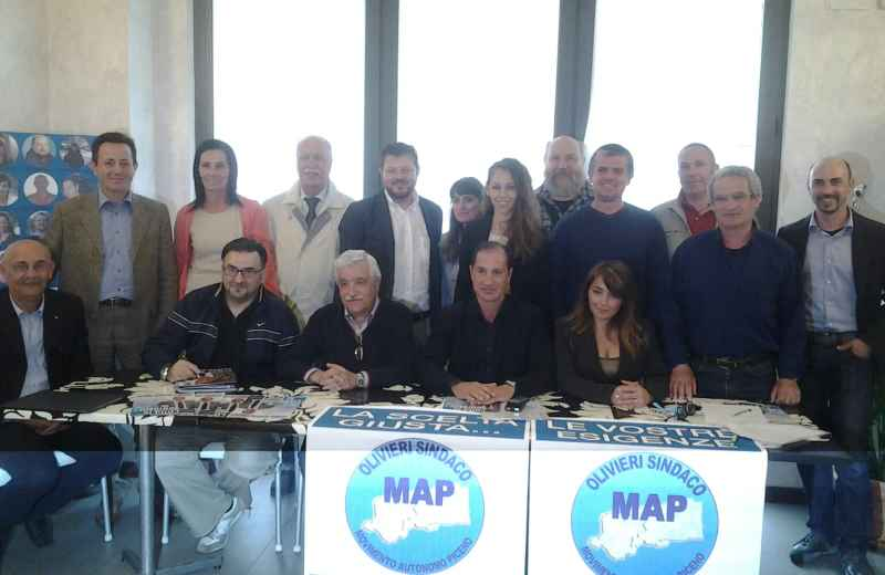 Elezioni Grottammare, candidati del Map