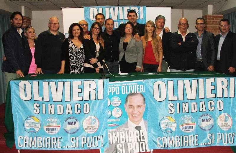 Elezioni Grottammare, lista Pdl in favore di Oliveri