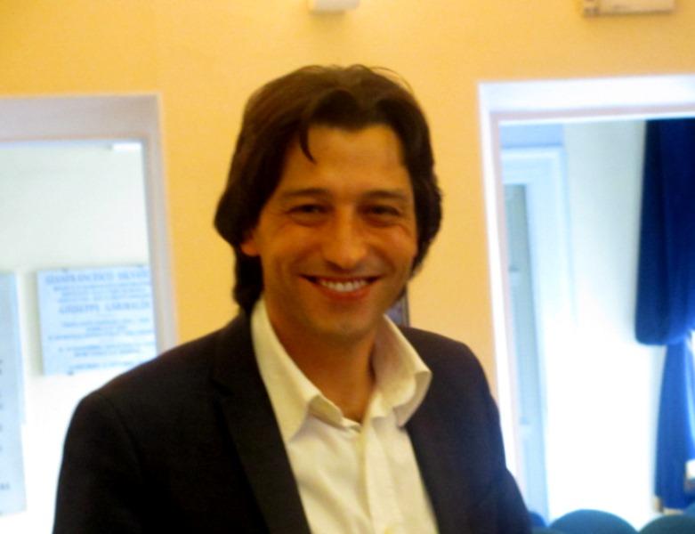 Il neo sindaco di Grottammare Enrico Piergallini