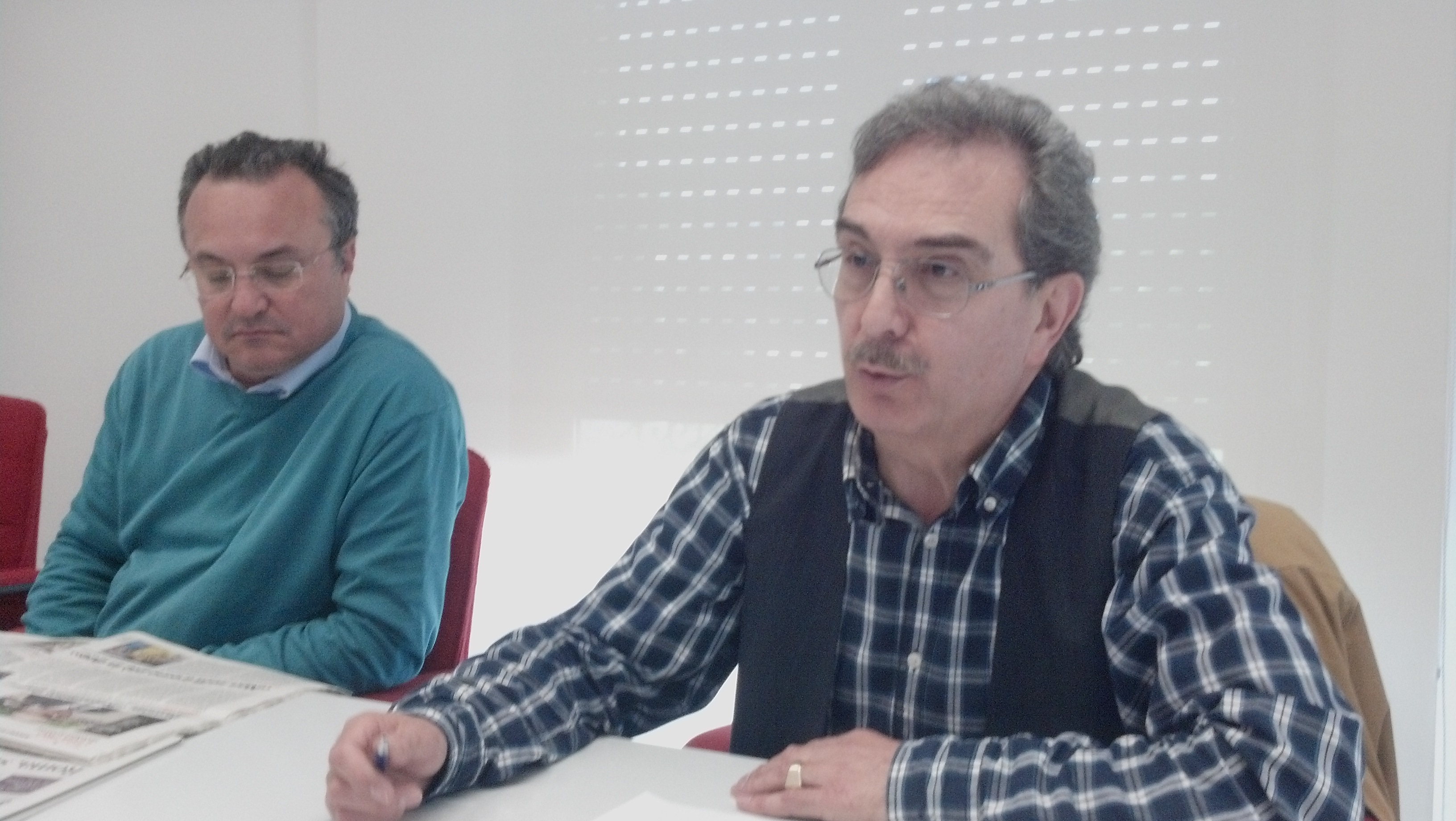 Fausto Calabresi e Luciano Pompili