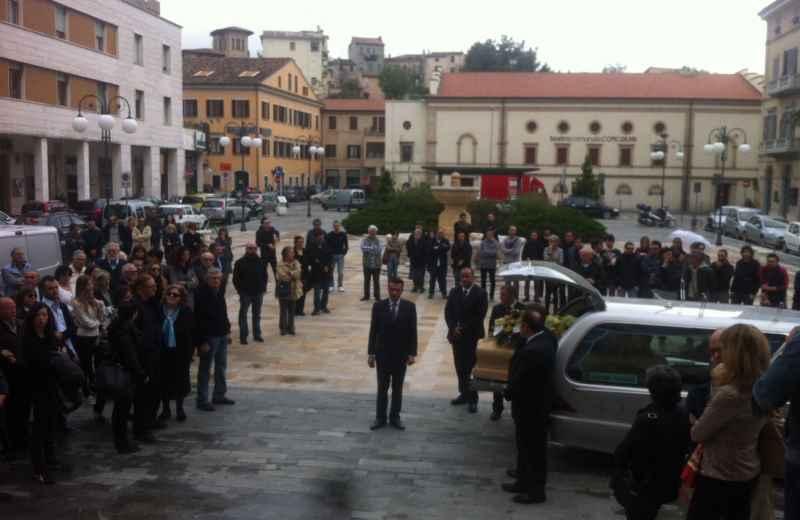 I funerali di Giacomo Antonini