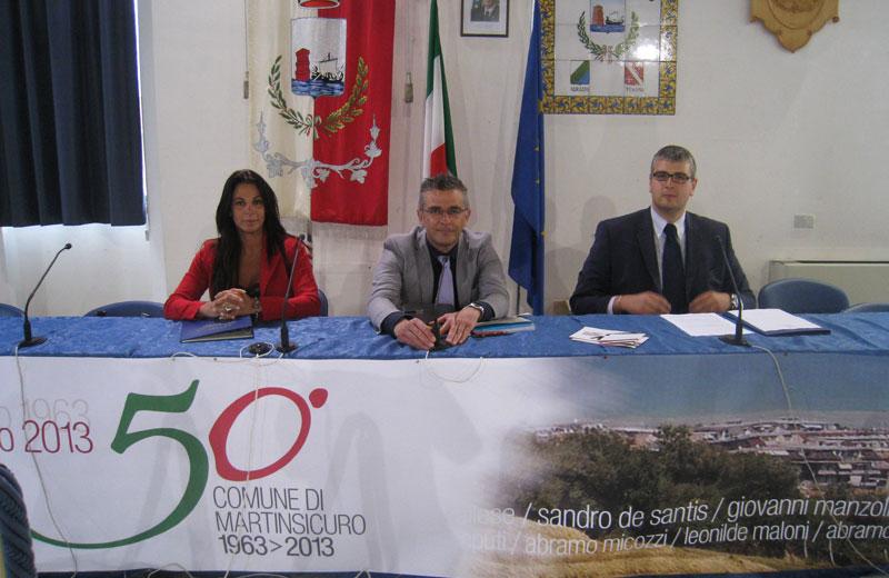 Azzurra Santoro, Paolo Camaioni, Alessio Procida