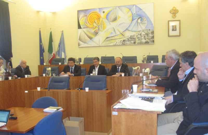 La conferenza dei  sindaci dell'Area Vasta 5 a Grottammare
