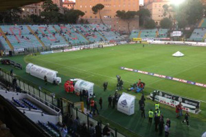 Lo stadio Franchi di Siena