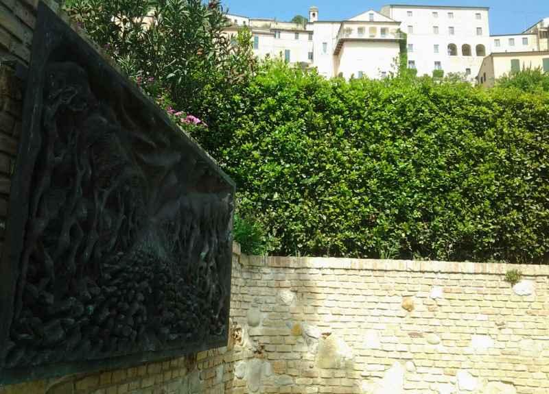 Opere di Pericle Fazzini nella sua casa di Grottammare (1)
