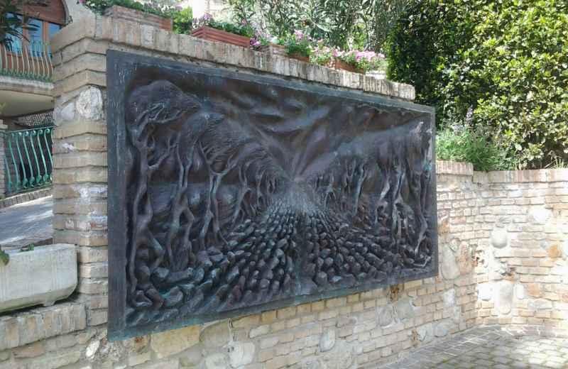 Opere di Pericle Fazzini nella sua casa di Grottammare (5)