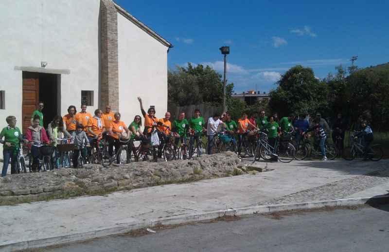 Piergallini, parte la biciclettata