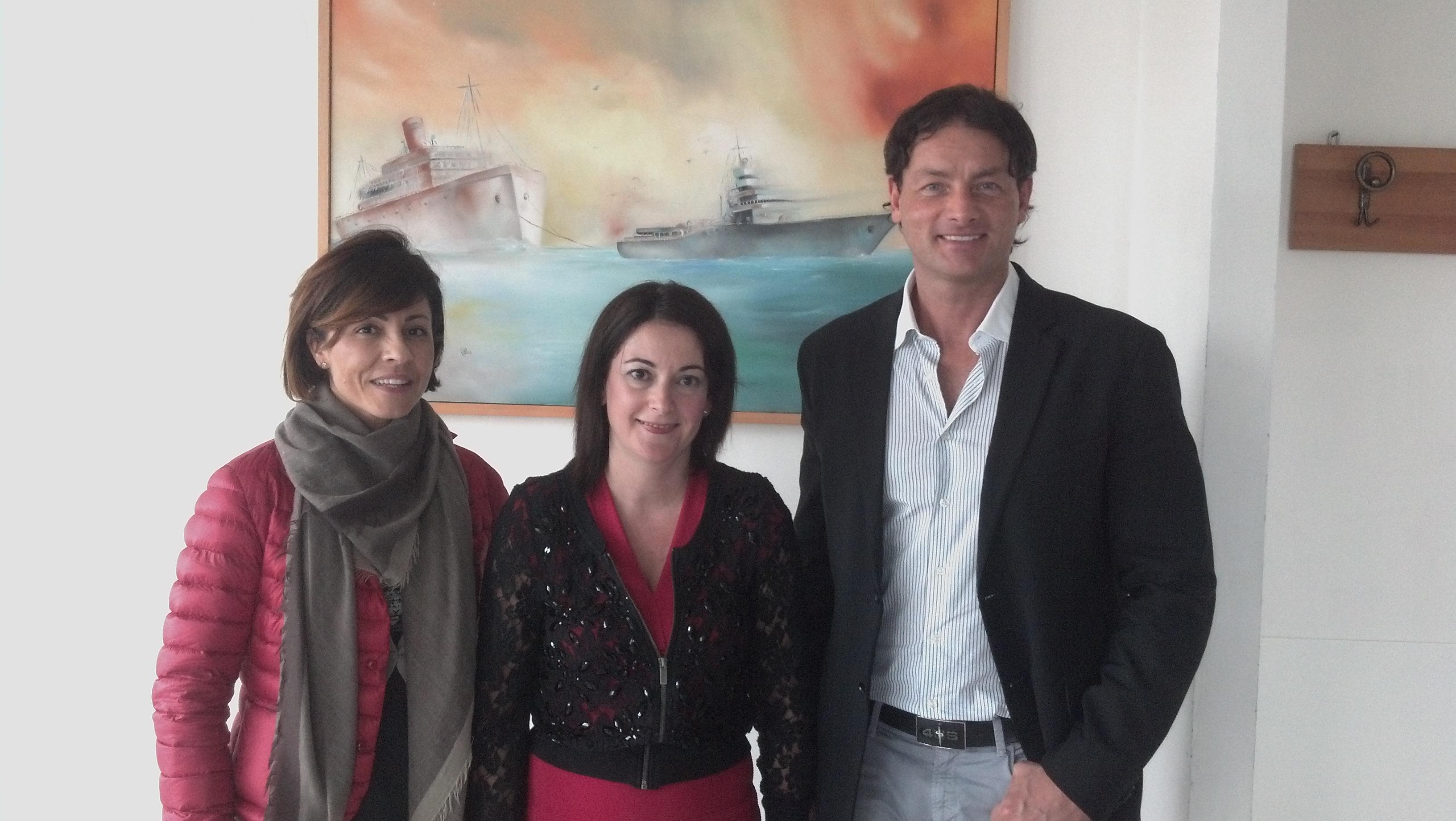 Raffaella Egidi, Elena Capriotti, Umberto Petrini