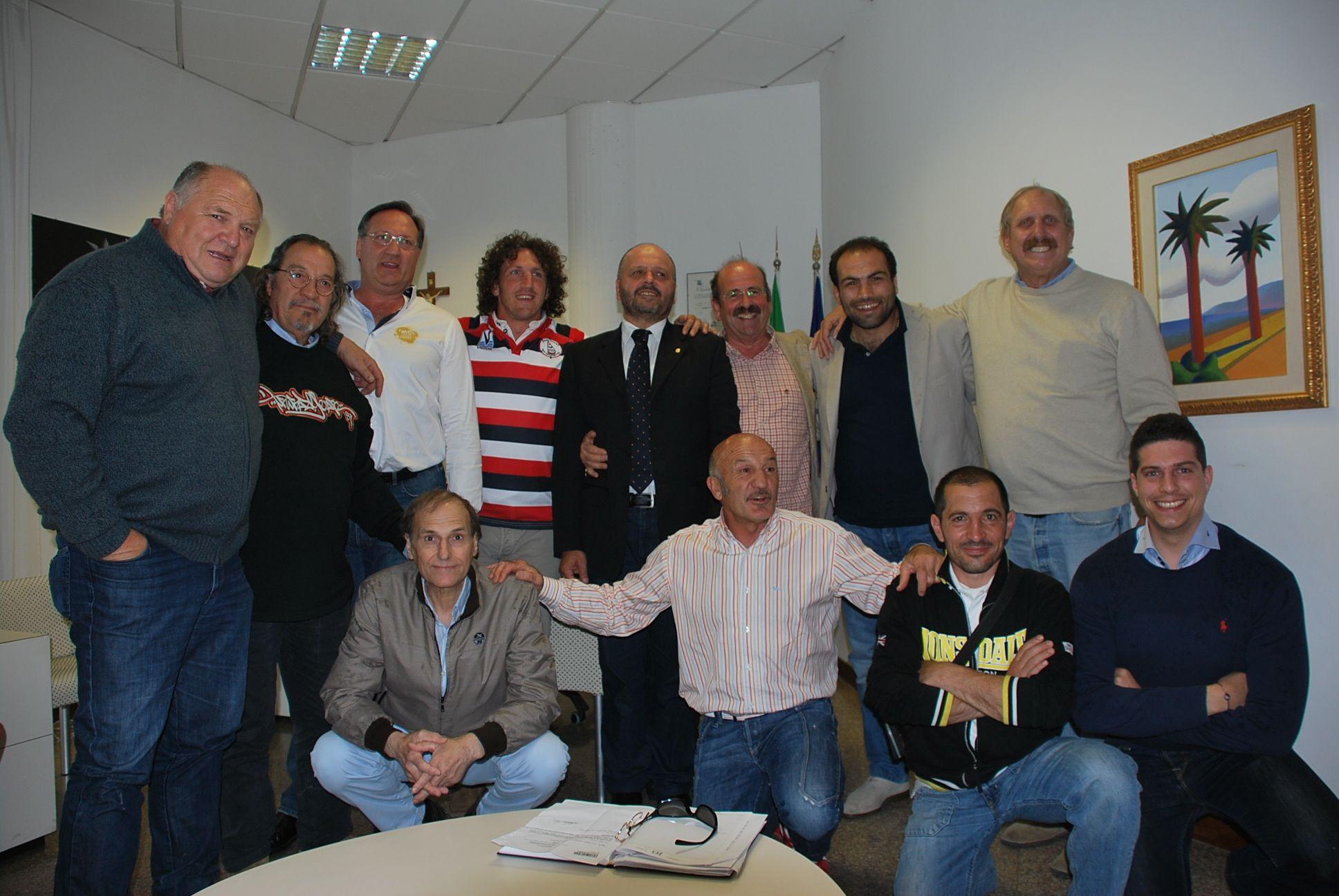 Ex nazionali di rugby in Comune