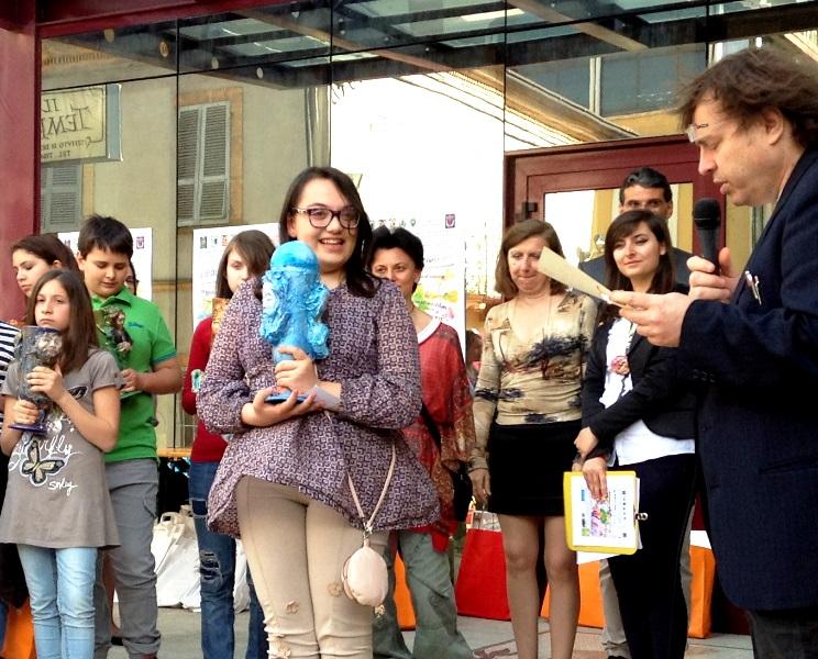 angelica giannetti vince il bambino cretivo 2013