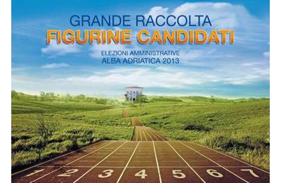 L'album delle figurine dei candidati