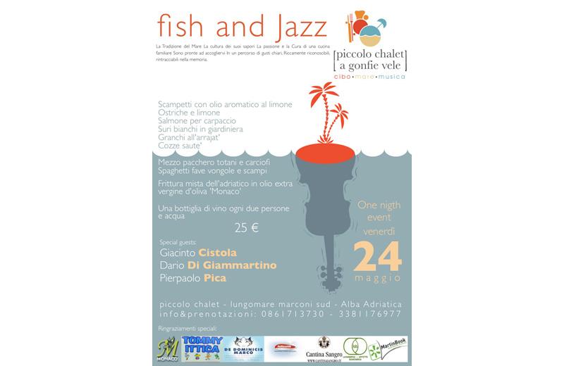 Fish and Jazz ad Alba Adriatica