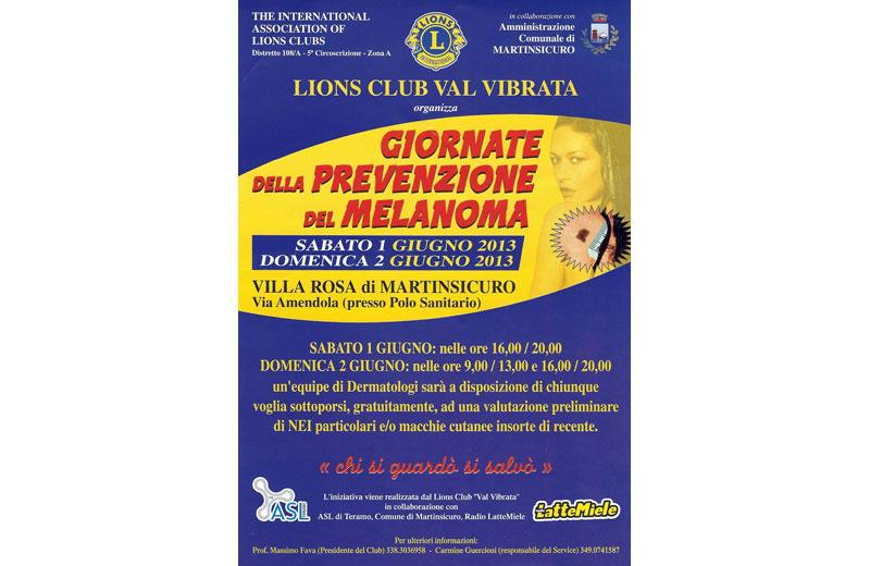 Giornate di prevenzione del melanoma