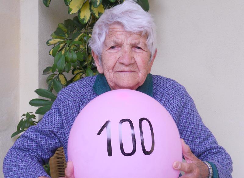 La signora Quintilia è nata il 17 maggio 1913