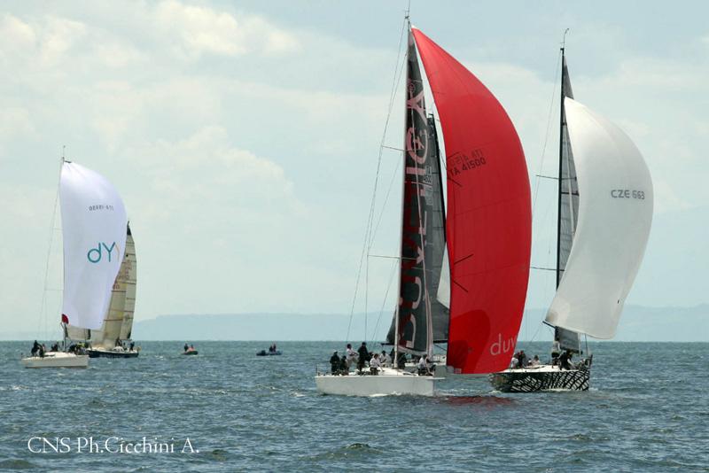 Un momento della regata ( foto di Alberto Cicchini )