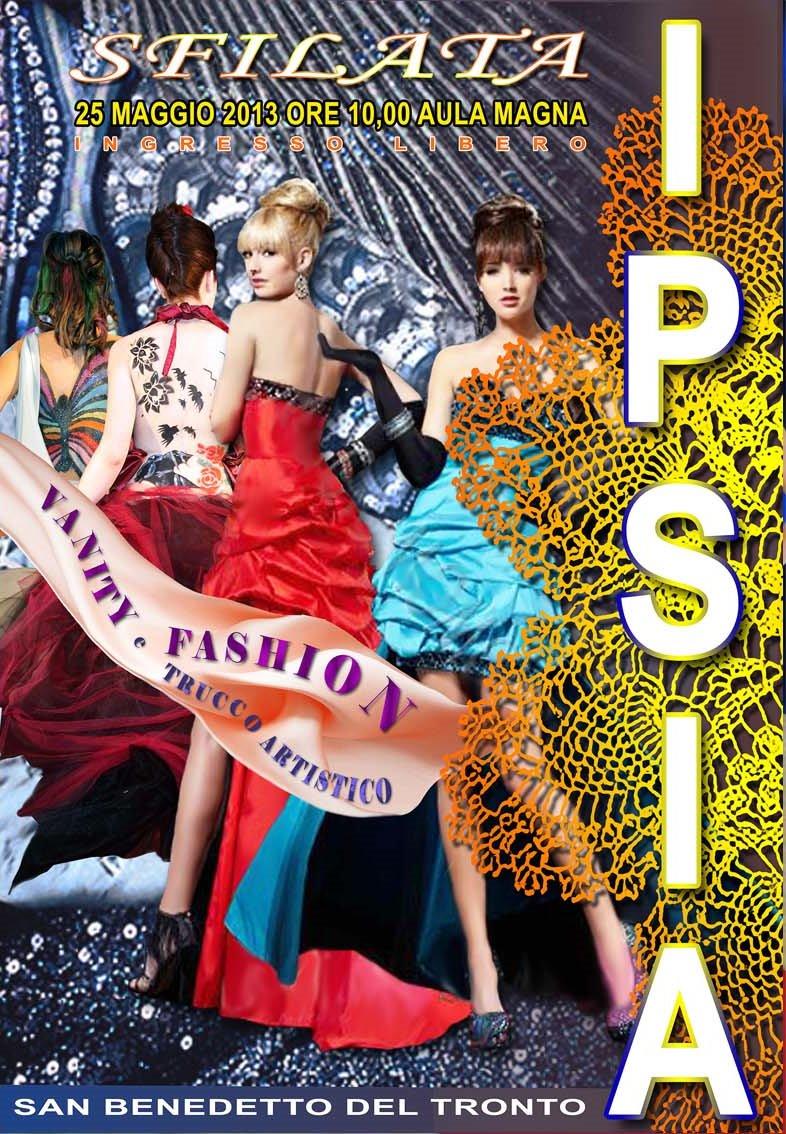 Sfilata di moda all'Ipsia