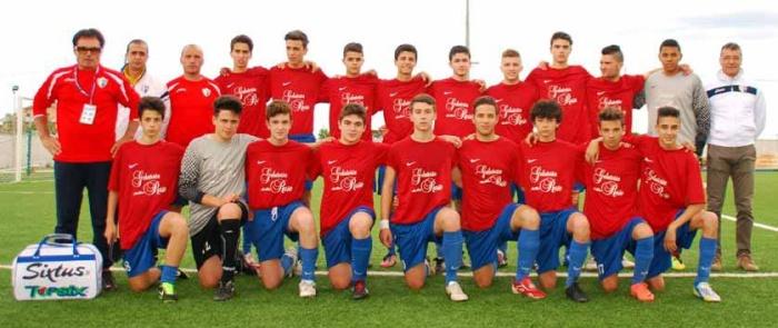 La squadra Allievi del Porto d'Ascoli vincitrice sul Pedaso