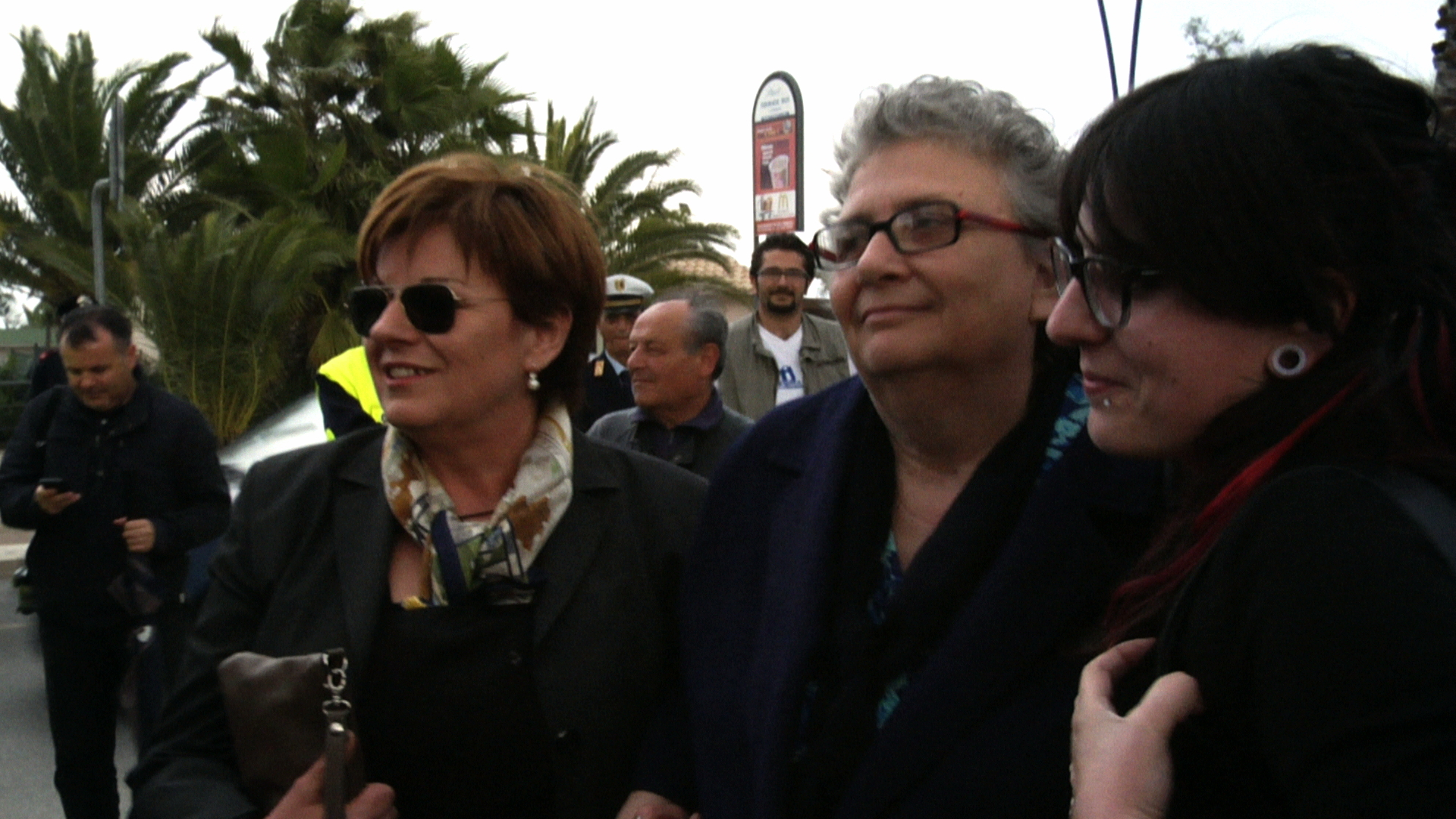 Antonietta Girolami, Agnese Moro e Roberta Peci