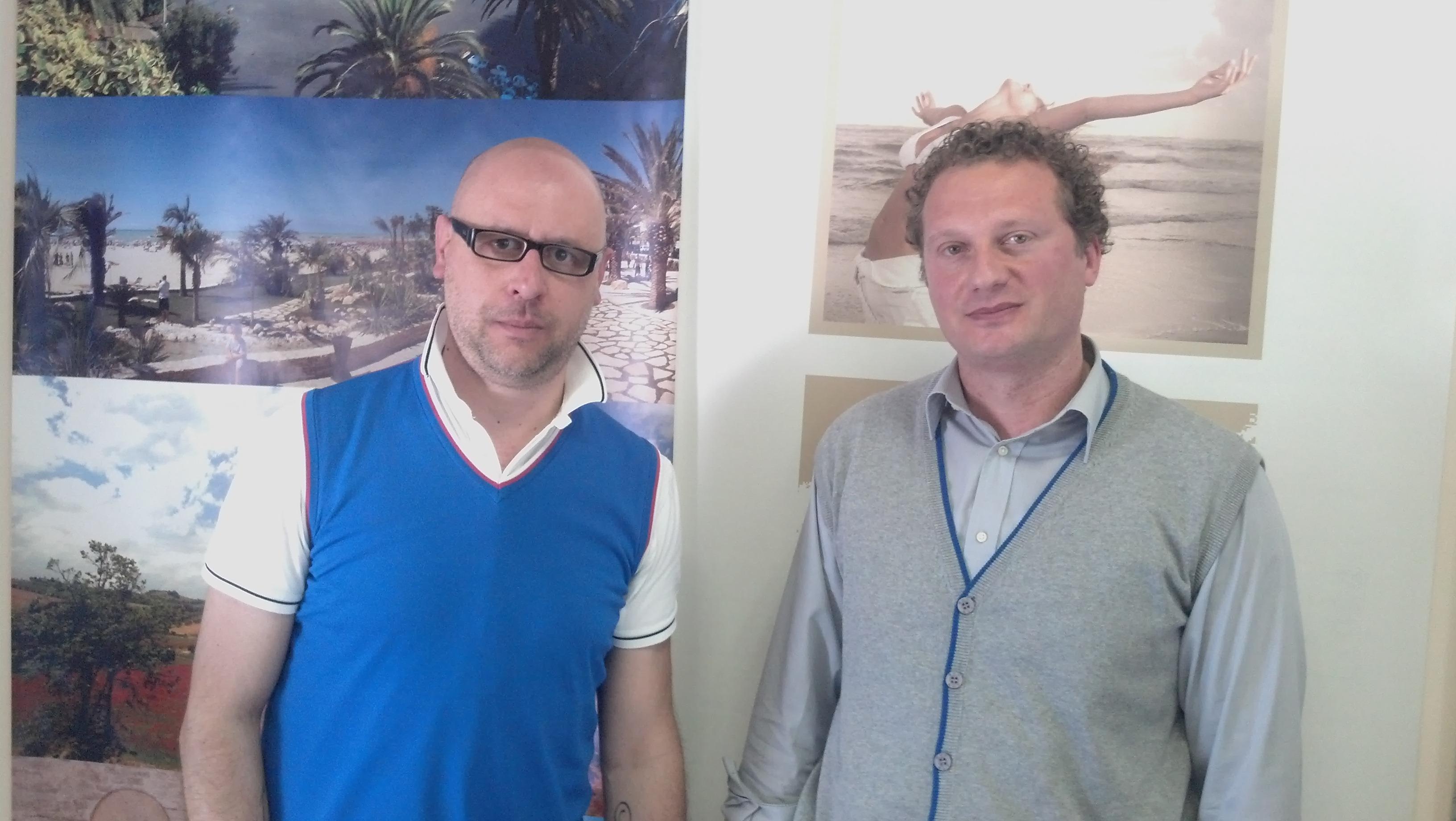Andrea Perugini e Giuseppe Cavallo