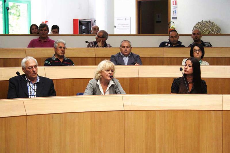 Antonietta Fanesi è la prima a destra della foto