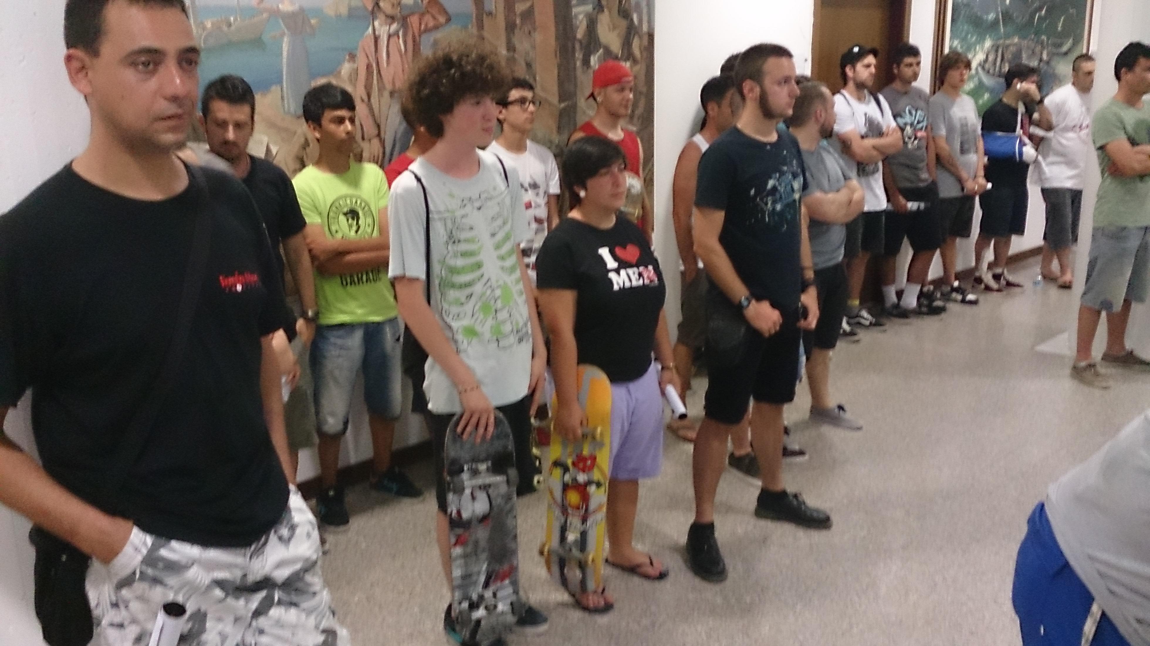 Skate park, i ragazzi al Consiglio Comunale