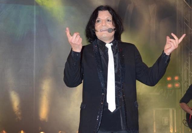Il cantante Fabio Ricci