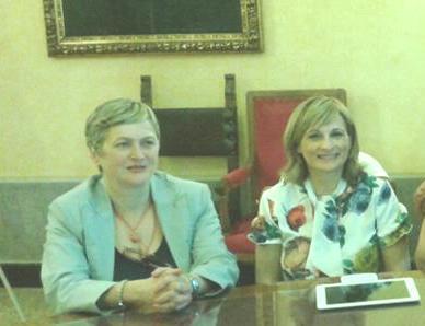 MIrella Marchese e Anna Pompili
